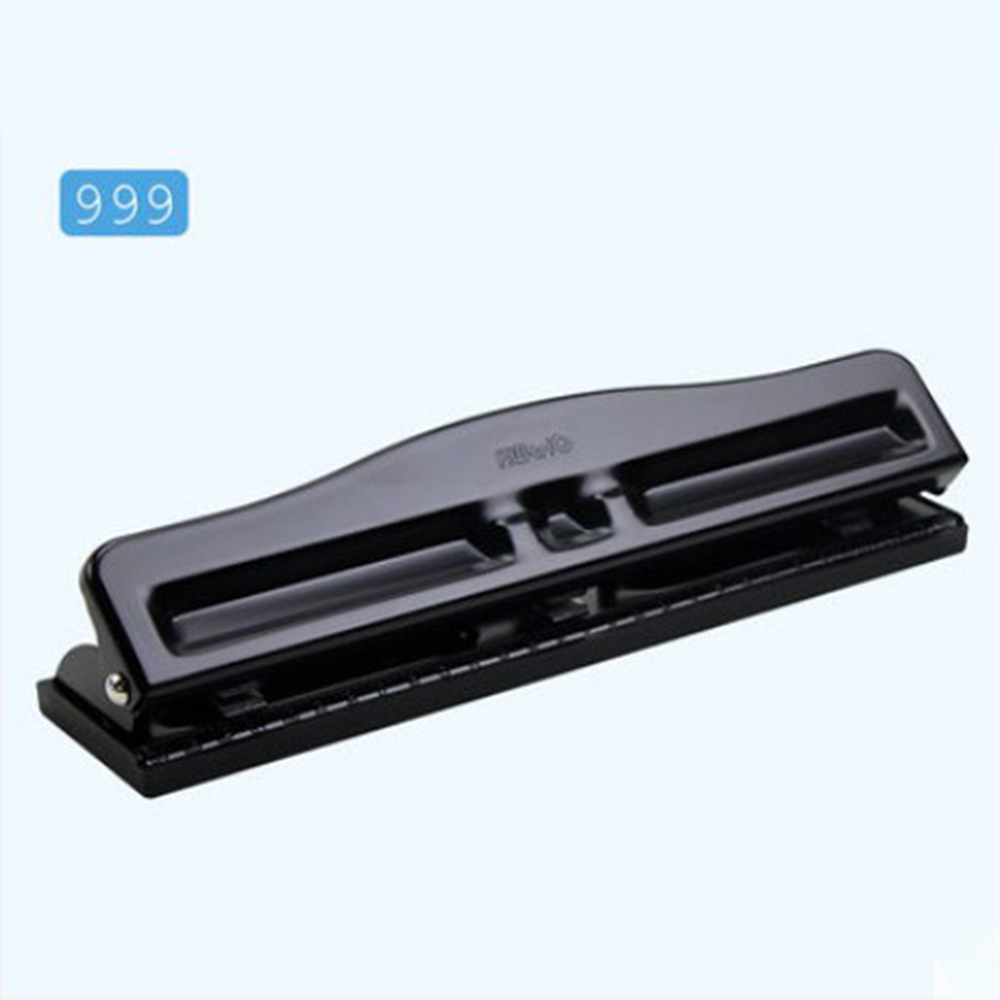 3 Holes Paper Puncher 999 Heavy Duty Punch, Adjustable M Desktop Hole Punch, 10 Sheets Capacities