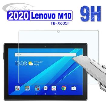 9h vidro temperado para lenovo tab m10 x605f 10.1 polegada tablet protetor de tela para lenovo TB-X605F m10 filme de vidro temperado x505f