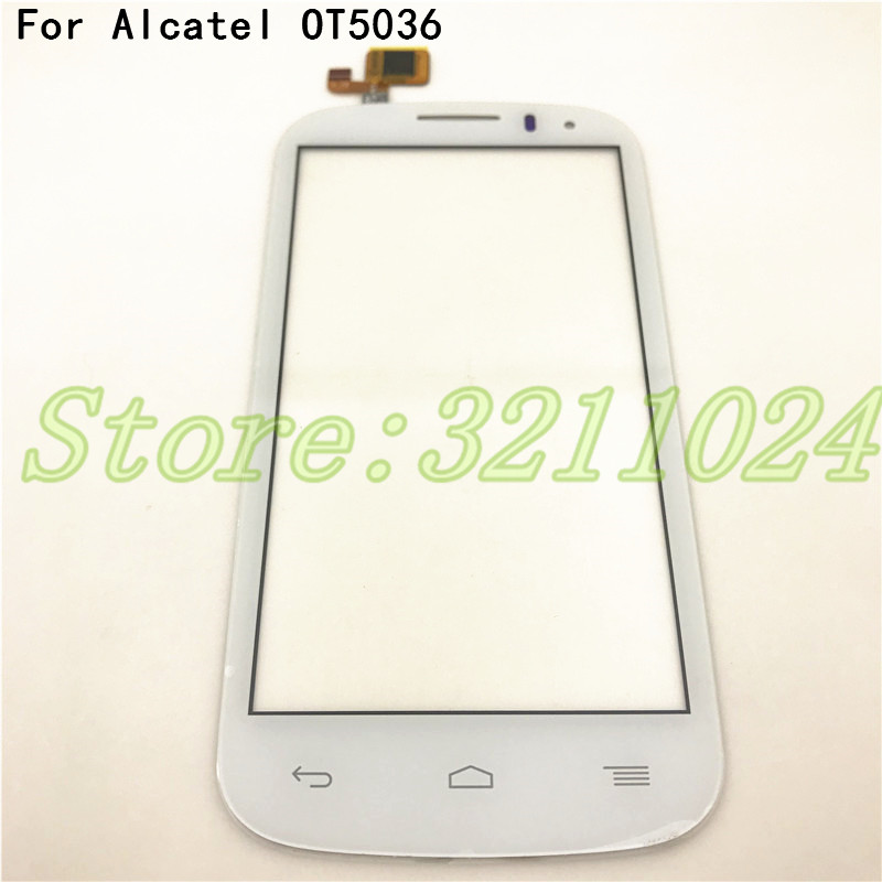 New Touch Screen For <font><b>Alcatel</b></font> One Touch POP C5 5036 OT 5036 <font><b>5036D</b></font> 5037E OT5036 glass outter Panel Front digitizer+Tools image