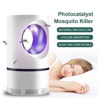 מלכודת יתושים Zapper LED USB מטען 5W סלון חיצוני חרקים רוצח 5V עמיד אלקטרוני יתושים רוצח קיץ-במלכודות מתוך בית וגן באתר