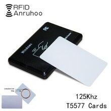 5/10PCS EM4305 Rewritable Smart Chip Card RFID Duplicate Tag 125Khz Copier Badge T5577 Duplicator Access Control Clone Key