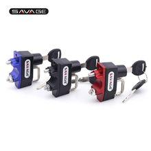 Helmet Lock For KAWASAKI Z125 Z250 Z300 NINJA 400/500R/650/650R/1000/300/250 Motorcycle Accessories Handlebar Bar Clamp CNC