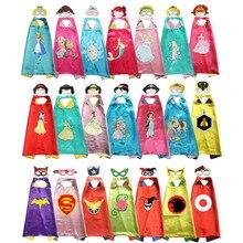 Костюм принцессы для девочек на Хеллоуин; накидки с масками; Детский костюм; костюм для ролевых игр; костюм для девочек; подарок для костюмированной вечеринки для девочек DC Super