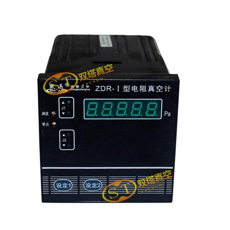 Resistance Vacuum Gauge ZDR-I With ZJ-52T/KF16 Gauge Vacuum Measurement Tester