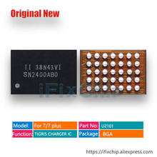 10 יח\חבילה U2101 USB טעינת IC עבור iphone 7/7 בתוספת/7 בתוספת החידקל מטען שבב