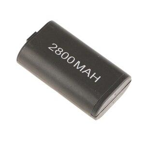 Image 5 - 2 batterie ricaricabili da 2800mAh caricabatterie cavo USB per Micro Xbox One