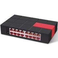 16 Ports 10/100/1000Mbps Gigbit Ethnet Network Switch Desktop Design MDI/MDIX 6KV LightningProtect SG116M