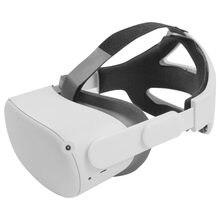 Vr cabeça cinta para oculus quest 2 vr capacete cinto ajustável cabeça cabeça cinta de fixação pressão reduzida para quest2 vr acessórios