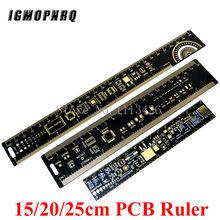 PCB Régua Para Engenheiros Eletrônicos Para Os Fabricantes Para Os Fãs de Referência PCB PCB Régua Embalagem Unidades v2-6