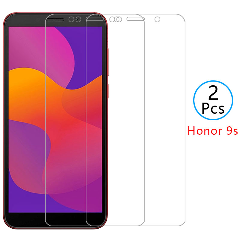 Sprawa na cześć 9 s 9a 9c pokrywa szkło hartowane screen protector dla huawei honor9s honer 9 s s9 telefon ochronny coque film glas