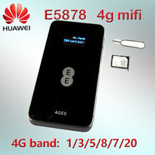 Huawei E5878s-32 4g lte desbloquear wifi router E5878 lte 4g dongle banda 5/20 4g lte MiFi router bolsillo 4g wifi router(China)