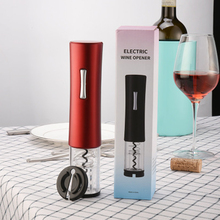 Electric Wine opener Red Corkscrew With Foil Cutter Vacuum  Stopper Kitchen Tools Bar tools Gifts