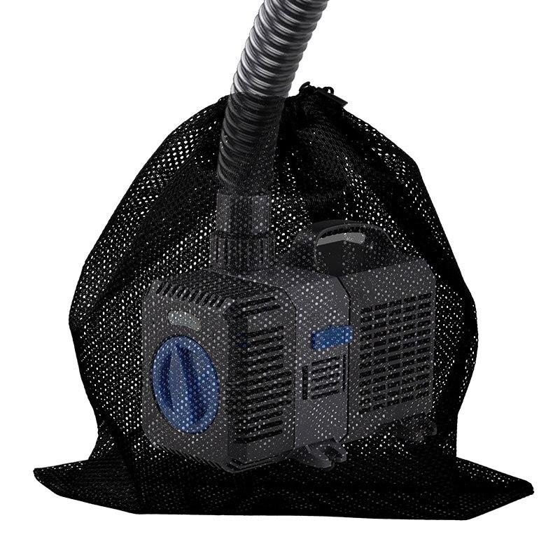 2020 1 pz nero bianco filtro sacchetto netto sacchetto di maglia acquario stagno per Bio palla carbonio Media ammoniaca acquario serbatoio di pesce sacchetto di isolamento|Attrezzi di pulizia| - AliExpress