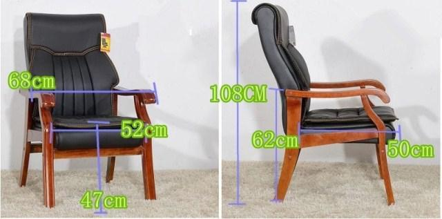 Solid Wood Computer Home Office Chair  4