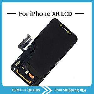 Image 2 - Sınıf AAA en kaliteli iPhone XR LCD orijinal hiçbir ölü piksel ekran 3D dokunmatik ekran montaj değiştirme ile Pantalla araçları