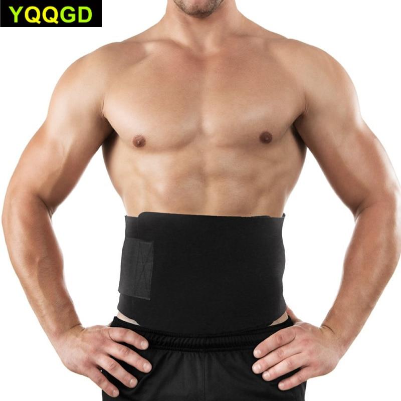 1Pcs Waist Trimmer Fitness Slimmer Belt Weight Loss Belly Fat Burner for Men and Women, Back Lumbar Support