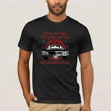 Футболка с принтом, футболка с изображением экипажа, палубы автомобиля, залов с солью и железом, рубашка impalalalalalalala, летняя модная уличная фу...