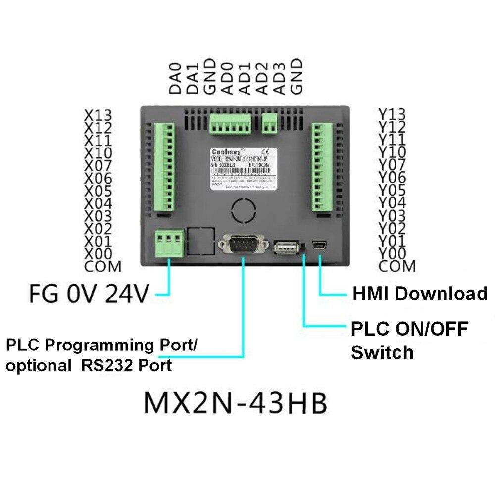 4.3 hmi plc tudo em um integrado