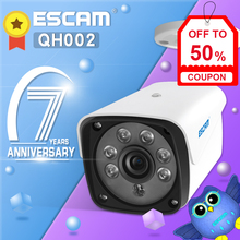 ESCAM QH002 1080P HD Outdoor Bullet Camera Waterproof IP Camera with Motion Detection IR Night Vision For Home Safety цена