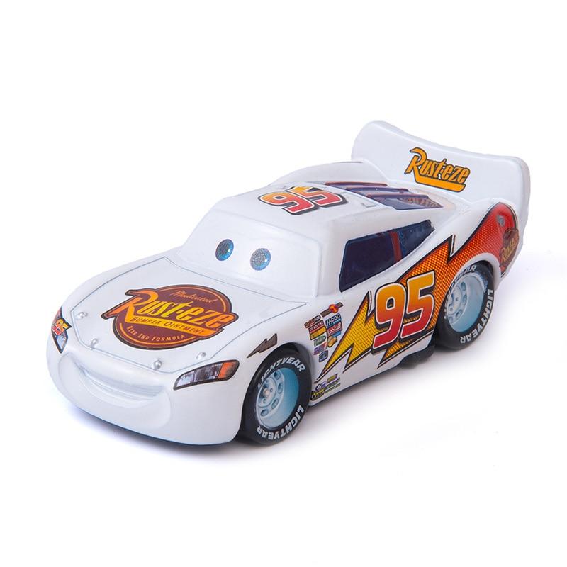 Cars Disney Pixar Cars  3 The New Lightning McQueen Jackson Storm Ramirez Mater 1:55 Diecast Metal Alloy Model Car Toy Kids Gift