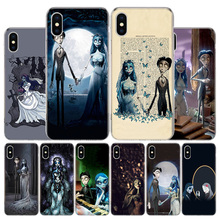 Tim Burtons Corpse Bride Phone Case For Apple Iphone 11 Pro X XR XS Max 7 8 6 6S Plus 5 SE 7G 6G + Art Cover Coque Capa Shell