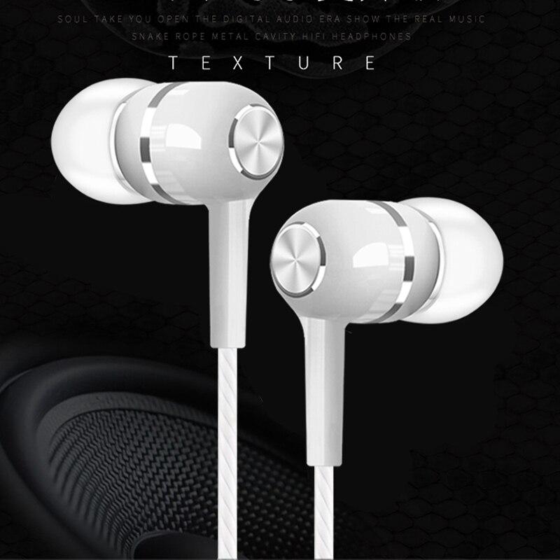 Olhveitra Verdrahtete Kopfhörer In-Ohr Für iPhone Android PC 3,5mm Ohrhörer Headset Gamer Fone De Ouvido Auriculares Handfree mit Mic