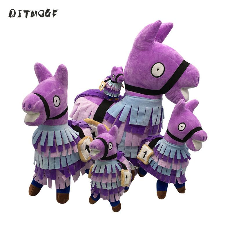 20cm PBUG Game Troll Stash Llama Plush Regular Soft Big-eyed Stuffed Animal Collection Doll Toy