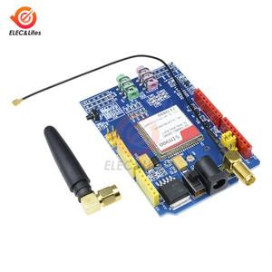 SIM900 850/900/1800/1900 МГц GPRS/GSM модуль макетной платы комплект для Arduino UNO GPIO PWM РТК со слотом для SIM карты Антенна