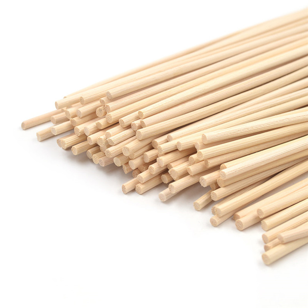 500pcs 22cm X 3mm Rattan Reed Diffuser Sticks Replacement Refill Rattan Sticks For Home Decoration