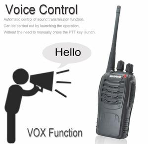 Image 3 - 4 pcs/set New Original Baofeng BF888S Walkie Talkie BF 888s 5W 16CH UHF 400 470MHz BF 888S walkie talkie two way Radio