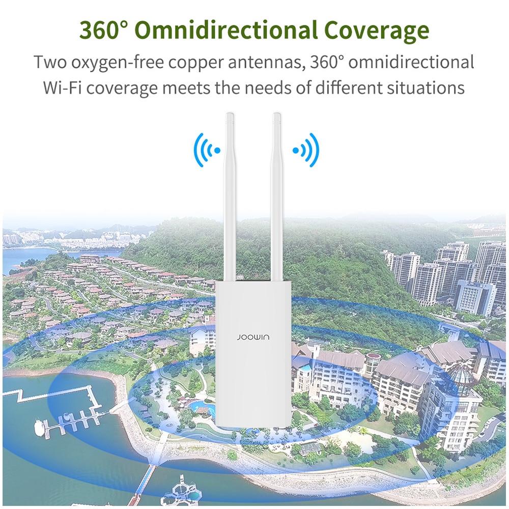 de alta potência com porta ethernet 5dbi antena suporte 100 + usuário