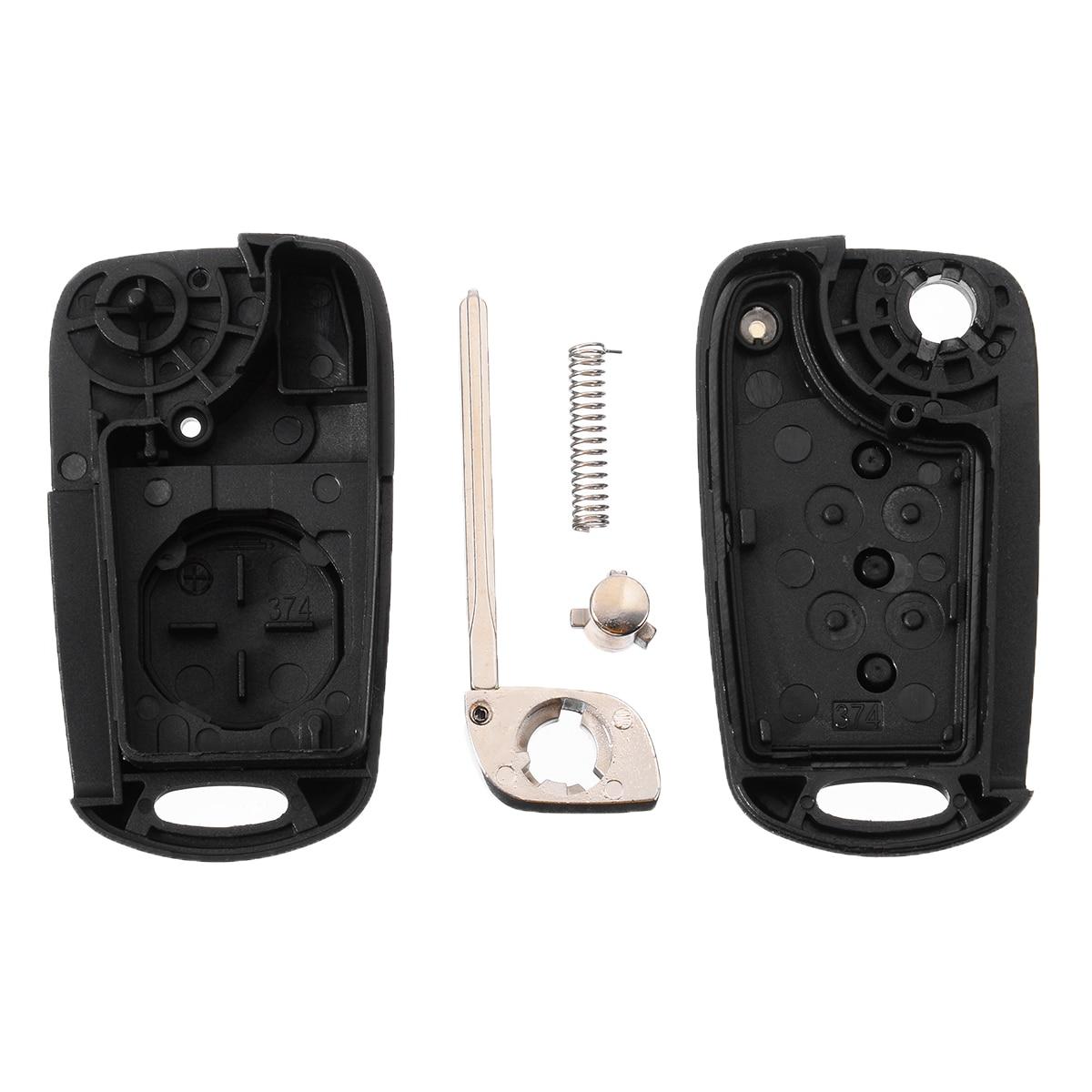 3 Button Car Key Cover Case Remote Key Fob Case Shell Accessories For Kia Ceed Picanto Sportage For Hyundai i20 i30 ix35 4