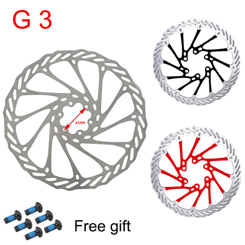 G3 MTB Bicycle Disc Brake <font><b>rotor</b></font> Stainless Steel 6-Bolts Brakes Disc 160MM 180MM <font><b>203MM</b></font> Road bike Disc-Brake Fit <font><b>Shimano</b></font> Sram image