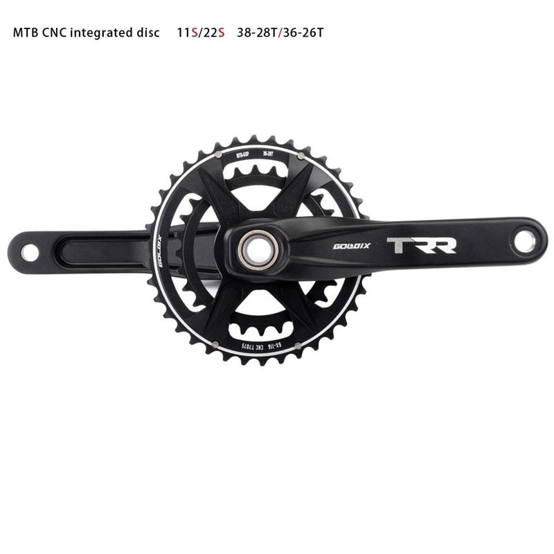 Roda dentada de manivela gxp da bicicleta mtb 36/26t 38/28t estreita ampla chainring 11s 22s gxp para sram xx1 xo1 x1 gx xo x9
