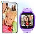 IP67 Waterdichte Smart 4G Remote Camera GPS WIFI Kids Kinderen Studenten Horloge SOS Video Call Monitor Tracker Locatie Horloge