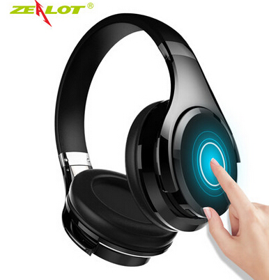 Zélot B21 stéréo basse sans fil Bluetooth 4.0 casque HiFi écouteur geste contrôle tactile réduction du bruit