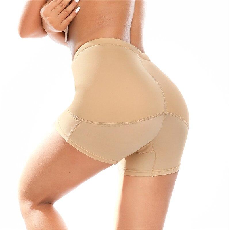 Bayan yastıklı Shapewear kalça artırıcı popo kaldırıcı bel eğitmen kontrol külot