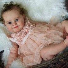 Rbg kit renascer bebê kit de vinil 24 polegadas maddie unpainted inacabado peças boneca diy em branco reborn kit de boneca de vinil