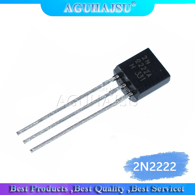 100PCS Transistor CHANGJIANG TO-92 2N2222 2N2222A