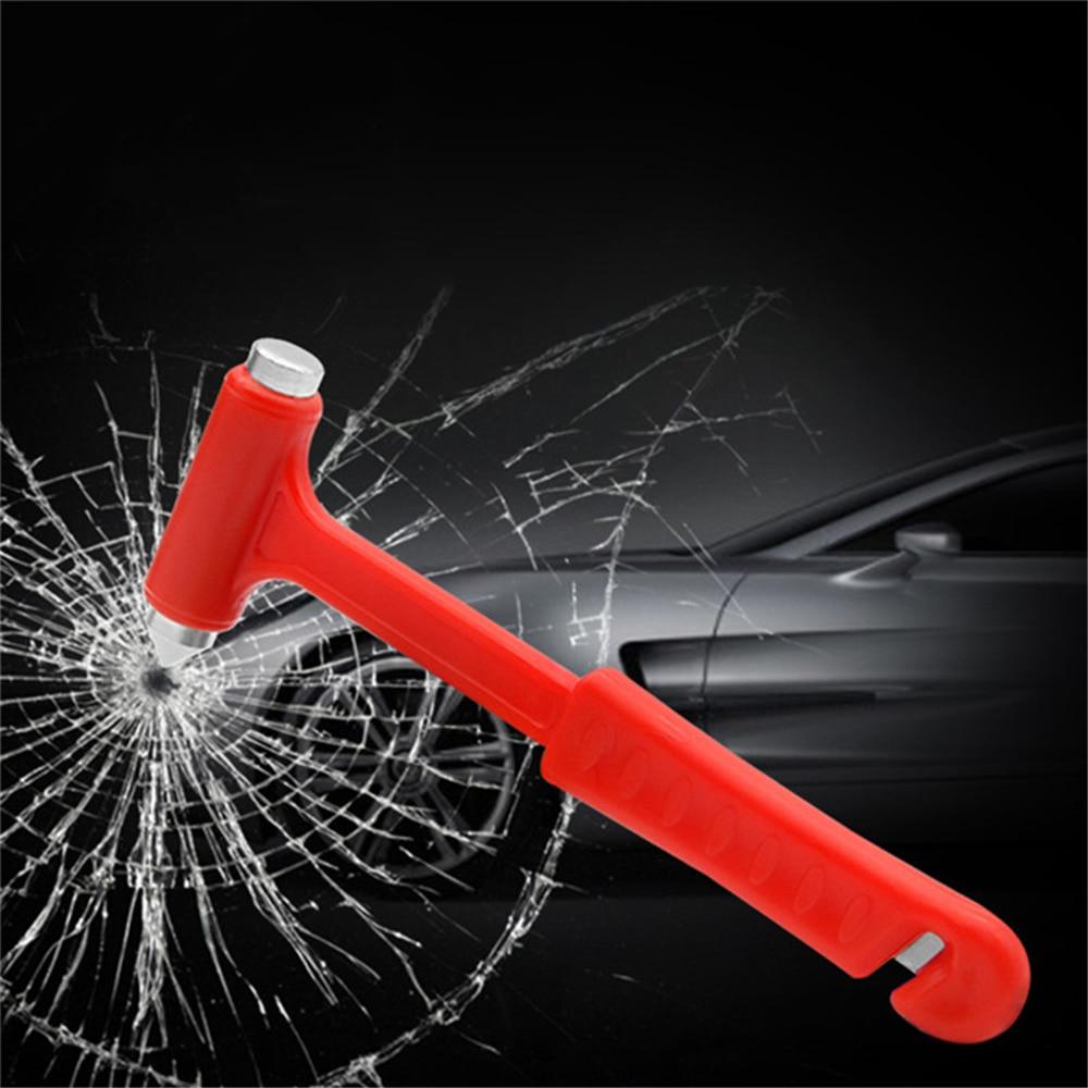 Car Accessories Car Safety Escape Glass Window Breaker Emergency Hammer Seat Belt Cutter Tool Mini Hammer