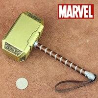 Marvel Thor Odinson legierung Simulation 20cm Die Hammer Mjolnir Waffe Modell Spielzeug Erwachsene Cosplay Kinder Kostüm Party Modell Spielzeug