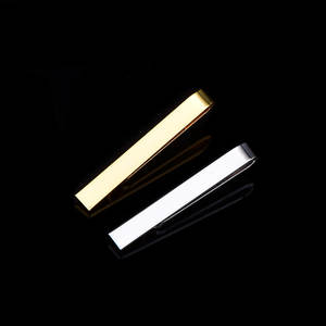 Tie-Clip Business Black Wedding-Fashion Men Metal Copper Trendy Jewelrytie-Pin-Bar Exquisite