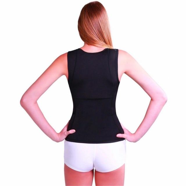 Thermo Sweat Women Waist Trainer Slimming Fitness Body Shapewear Tank Corset Vest Belt Beauty Cincher Slimming Wraps Product Hot 4