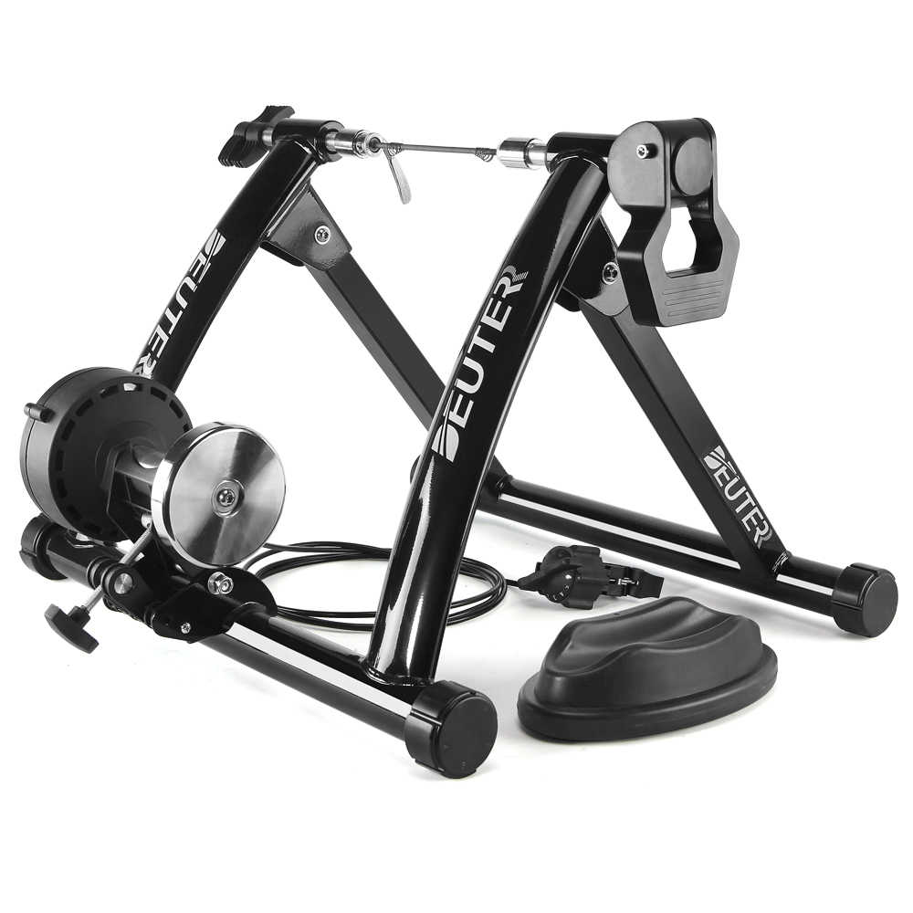 Gratis Indoor Latihan Sepeda PELATIH 6 Tingkat Rumah Trainer Bike MTB Road Sepeda Bersepeda Pelatihan Roller Sepeda Rak Pemegang Stand