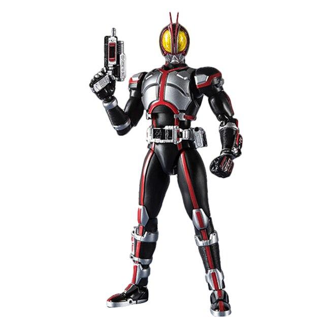 Maskeli Rider 555 20th yıldönümü Kamen Rider Faiz eylem şekilli kalıp oyuncaklar PVC 15CM koleksiyon hediyeler masaüstü dekorasyon
