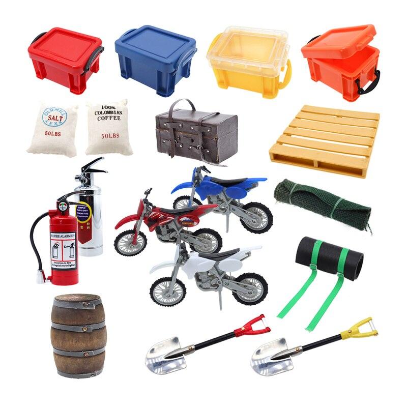 Mini 1:10 RC Car Accessories And Parts Decoration For 1/10 Rock  Crawler Car Traxxas TRX4 TRX-4 Axial SCX10 RC4WD Tamiya CC01