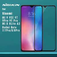 Für Xiao mi mi 9 Pro 5G 9T Pro 9 8 SE Lite A3 Gehärtetem Glas Nillkin 2.5D volle Abdeckung Screen Protector für Red mi Hinweis 8T 8 7 Pro
