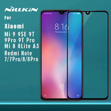 for Xiaomi Mi 9 Pro 5G 9T Pro 9 8 SE Lite A3 Tempered Glass Nillkin CP+ 2.5D Full Cover Screen Protector for Redmi Note 8 7 Pro
