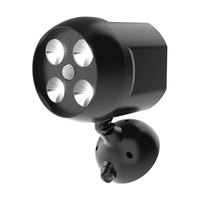 8W 500LM Motion Sensor LED IP65 Waterproof Outdoor Lights Battery Operated Security Lights for Wall Garden Driveway Lighting