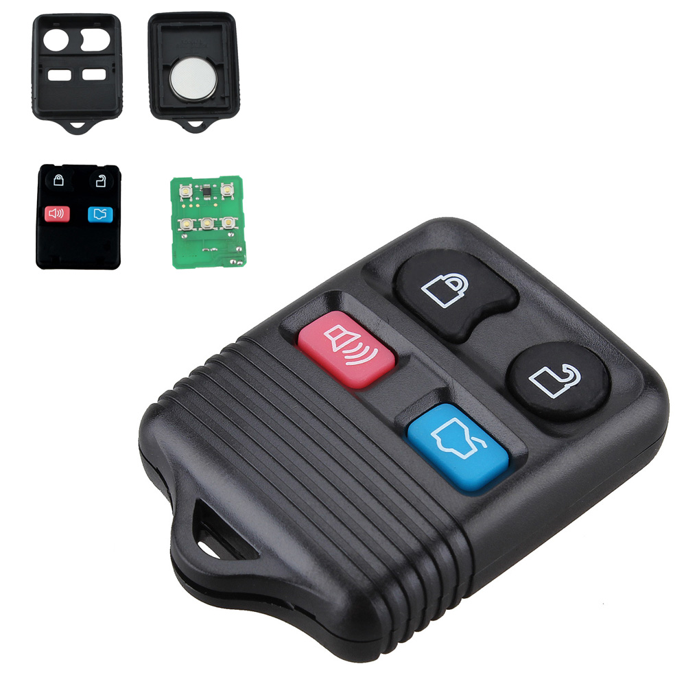 315MHZ 4 Buttons Car Replacement <font><b>Remote</b></font> <font><b>Key</b></font> Fob <font><b>for</b></font> Mercury/<font><b>Ford</b></font> <font><b>Focus</b></font> Escape Explorer Ranger Freestyle Taurus 1998-2010 image